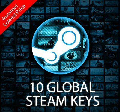 10x HIGH QUALITY Steam Premium Random Keys PC Global CD Keys
