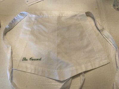 Vintage The Concord Hotel Cocktail Apron