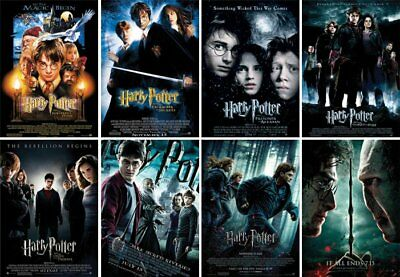 Harry Potter The Complete 8-Film Collection (DVD 2011, 8-Disc Set) FREE SHIPPING