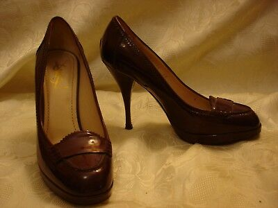 cdec108c7e YSL Yves Saint Laurent Patent Leather Heel Shoes size 38 Italy