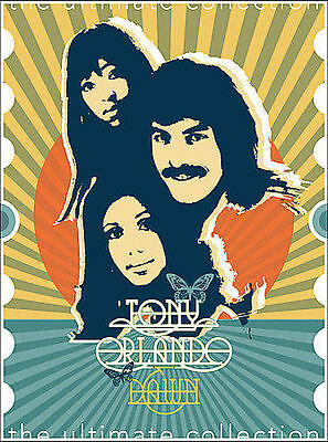 Tony Orlando  Dawn - The Ultimate Collection (DVD, 2005, 3-Disc Set) BRAND NEW