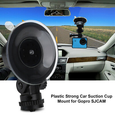 Plastic Adjustable Strong Car Suction Cup Mount Action Camera Accessory fr SJCAM