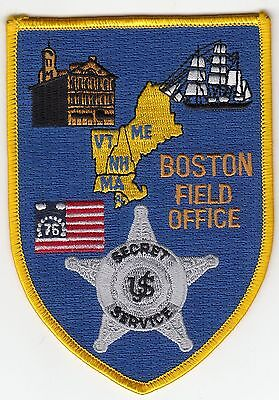 Usss Boston Field Office Massachusetts Police Patch Ma Us Secret Service