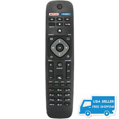 New Replace TV Remote Control for Philips 50PFL6602/F7 55PFL5402/F7 43PFL5602/F7