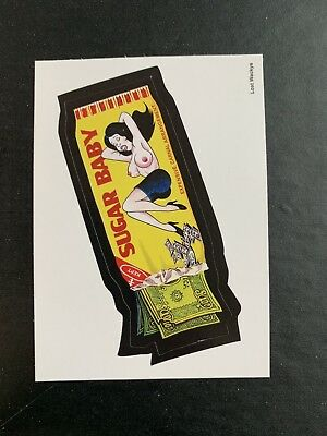 2018 Lost Wacky Packages 4th Series Jay Lynch SUGAR BABY X