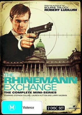 The Rhinemann Exchange - The Complete Mini Series (DVD 2-Disc)BRAND NEW SEALED