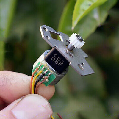 15MM 2-phase 4-wire Mini Full Metal Gear Stepper Motor Precision Gearbox Robot