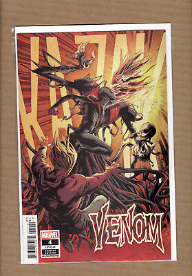 VENOM #4 2nd Print Variant  Donny Cates Ryan Stegman Marvel Comics 2018 NM