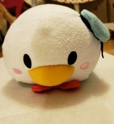 "Authentic Disney Store USA Tsum Tsum Plush 12"" Donald Duck Medium EUC No tags"