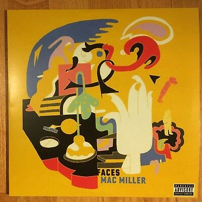 "Mac Miller - Faces [2LP] Limited Edition Black Vinyl 12"" Record 2018 33 RPM"