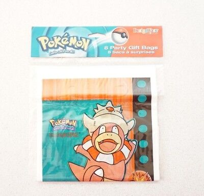 Pokemon Birthday Party Gift Loot Treat Bags X16