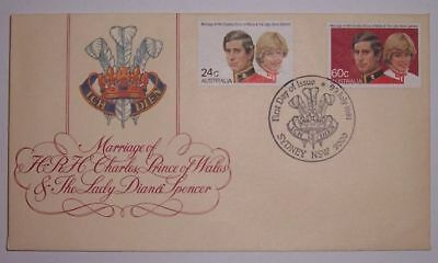 ENVELOPE....Marriage of HRH Prince of Wales and Lady Diana Spencer....MINT