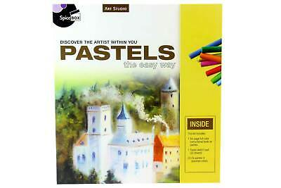 ART & DRAWING KIT - Includes 20 x Colour Oil Pastels, 30page Sketch Pad & MORE!