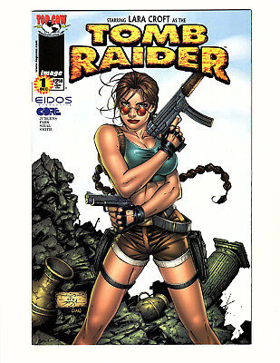 """Tomb Raider: The Series #1 (1999, Image) VF Andy Park Cover """"A"""""""