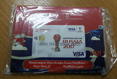 FIFA Confederation Cup 2017. Collection football Card