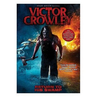 Victor Crowley (DVD) REGION 1 DVD (USA) IN STOCK READY TO POST BRAND NEW SEALED