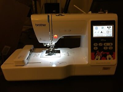 BROTHER PE550D  PE 550 D Embroidery Machine with Built-In Disney Designs