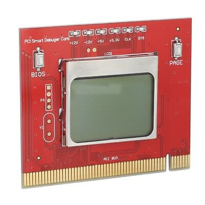 PCI Desktop PC Motherboard Diagnostic Card Computer Detection&Test Card SS