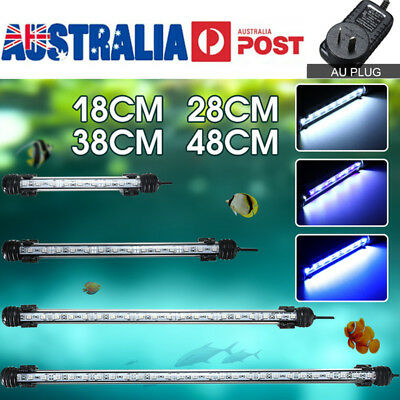Aquarium Fish Tank Plant 5050SMD LED Light Bar Lighting Lamp White Blue AU Stock