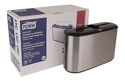 Tork Xpress Countertop Multifold Hand Towel Dispenser 302030 Stainless Steel