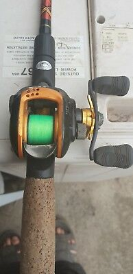 Fishing rod UGLY STIK 2000 plus with dawa reel  fitted with fuji guides