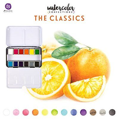Prima Watercolour The Classics Watercolor Paint Artist Mixed Media 12/Colours