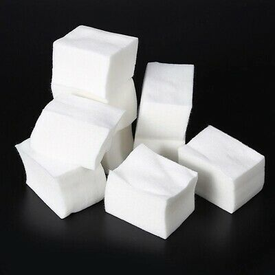 900Pc Lint Free Nail Wipes Pads Art Gel Acrylic Polish Remover Pedicure Manicure