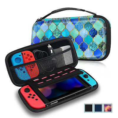 Fintie Case for Nintendo Switch Portable Traveler Carry Bag w/10 Game Card Slots