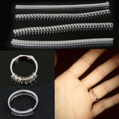 12pc Invisible Ring Size Adjuster for Loose Rings – Ring Spacer Sizer Fitter UK