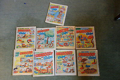 9 Whizzer and Chips Vintage UK Comics, 1908s
