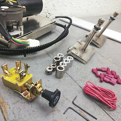 1947-59 CHEVY PICKUP Truck Wiper Kit w Wiring Harness washer upgrade on 2.5 car packard, supercharged packard,