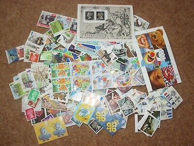 £100 worth Stamps for Postage with gum for £70 - 30% off   - rf000