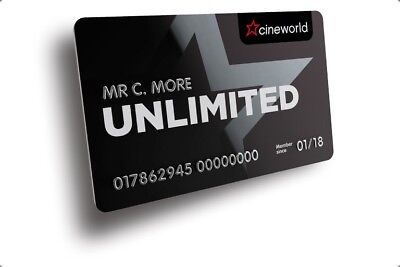 Cineworld Unlimited Card Refer A Friend Code. Get One Month Free!!!