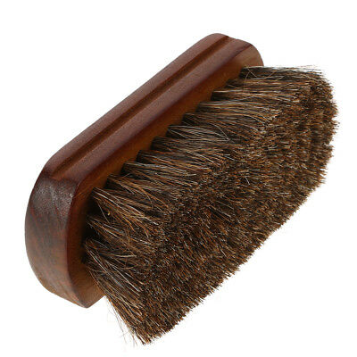 Facial Brush cheveux Barbe Brush Natural Horse Men Moustache Poils Blaireau J2J0
