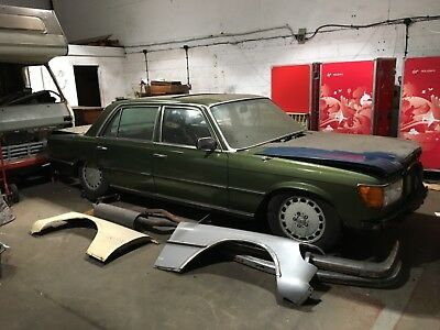 Mercedes 6.9 450SEL Project