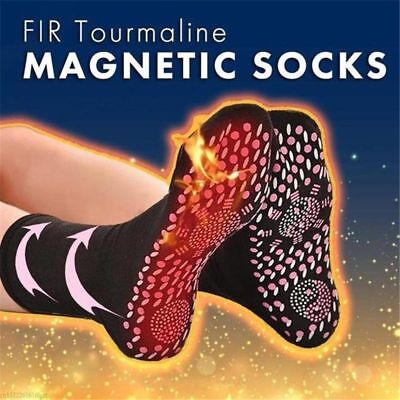 FIR Tourmaline Magnetic Socks - Self Heating Therapy Magnetic Socks Unisex