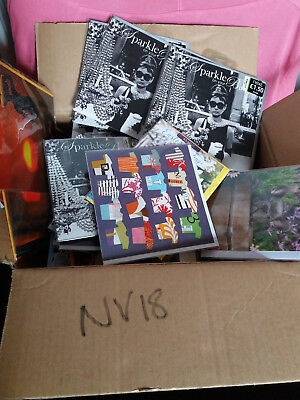 Joblot x200 Greetings Cards assorted NEW (lot nv18)