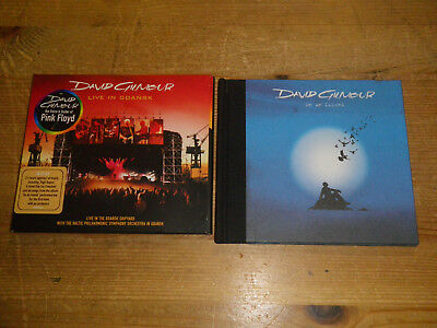 DAVID GILMOUR (PINK FLOYD): On An Island/ Live, LOT WITH 1 CD + 1x 2 CD, TOP!!!
