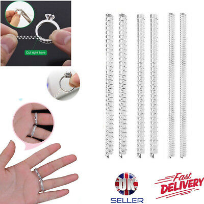 UK Ring Size Adjuster Sizer Resizer Snuggies Reducer Spiral One Size Fits All