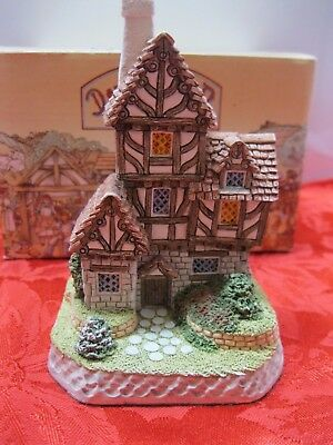 David Winter Cottages 'The Quacks' Cottage 1993 COA/Box Great Britain Hand-Made