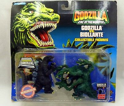 Godzilla Vs. Biollante By Trendmasters 1994 Collector's Special Set Bonus Card