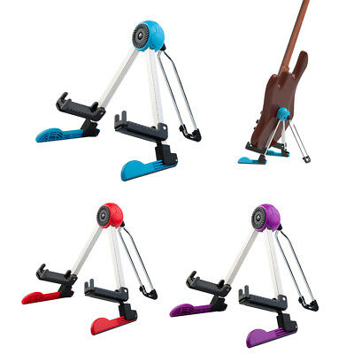 Foldable Guitar Stand for Acoustic Classical Electric Guitar Bass Parts