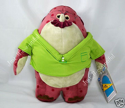 "Disney Store Monsters University DON CARLTON Plush 10.5"" Stuffed Toy MU Inc New"