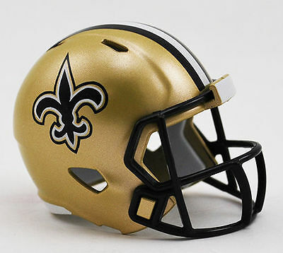 New Orleans Saints Nfl Riddell Speed Pocket Pro Helmet Loose