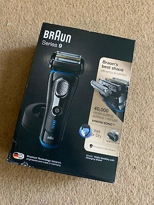 Braun Series 9 Mens Electric Foil Shaver Wet&dry 9240s With Charging Stand