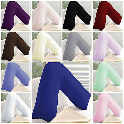 V Shaped Pillows & Covers For Pregnancy Maternity Orthopedic Support Nursing