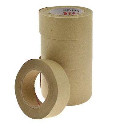4-sizes Kraft Paper Adhesive Tapes Water Activated Packing Tape Tool Hand Crafts