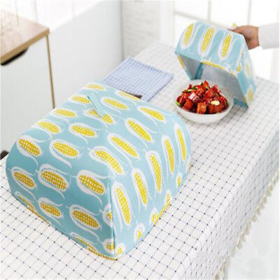 Kitchen Accessories Foldable Square Insulated Food Cover Durable Dish Cover ONE
