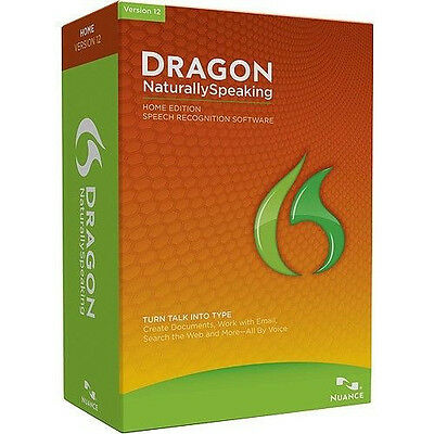 Nuance Dragon Naturally Speaking 12 Home Edition