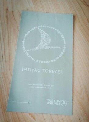 Air sickness bag Turkish Airlines Business Class Sonderedition